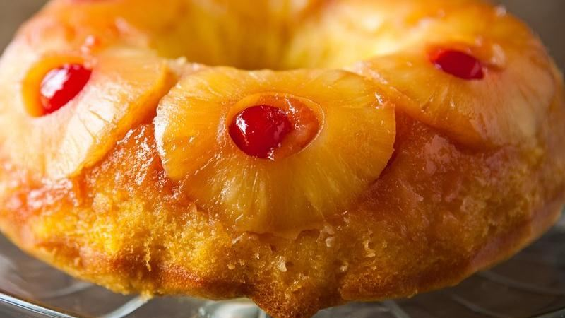Betty Crocker Pineapple Upside Down Cake Bundt
