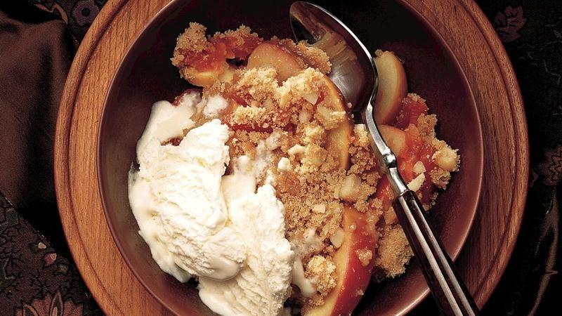 Apricot-Apple Crisp
