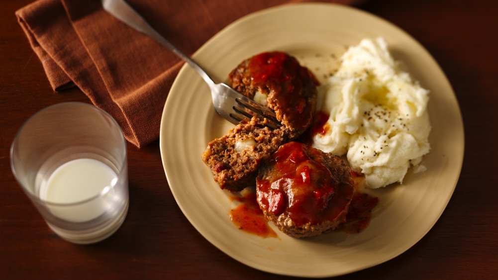 Cheese-Stuffed Giant Meatballs
