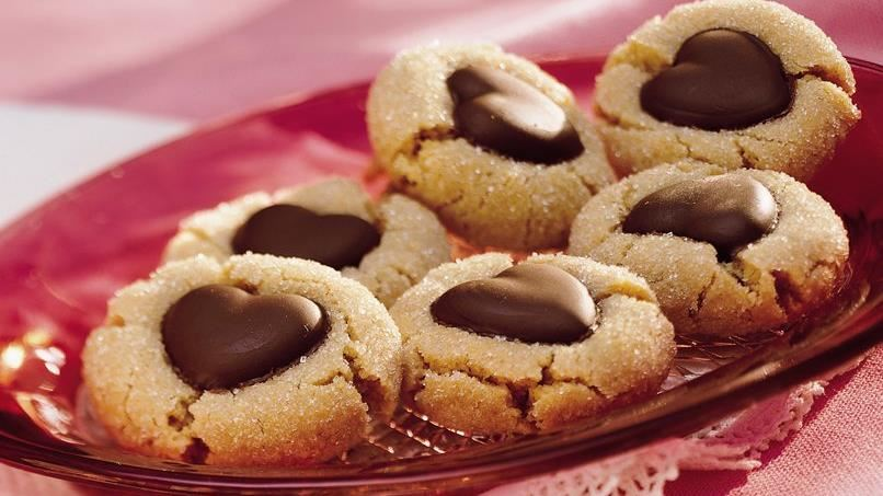 Chocolate-Peanut Butter Cookies