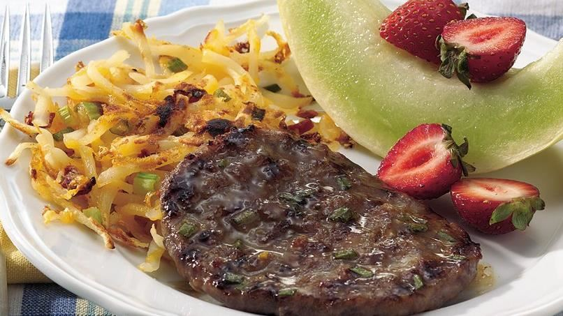 Maple-Mustard Grilled Bratwurst Patties