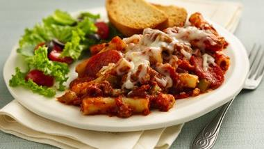 Meat-Lover's Pizza Casserole