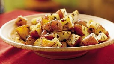 Roasted Rosemary-Onion Potatoes