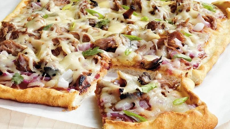 Barbecue Pork Pizza
