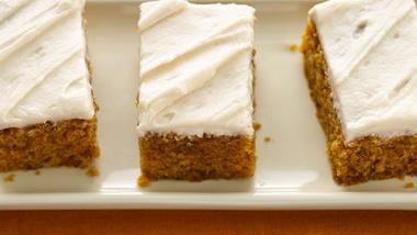 Pumpkin Bars (White Whole Wheat Flour)