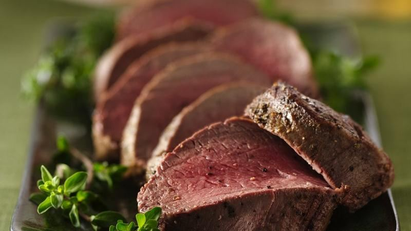 Herb Roasted Beef Tenderloin