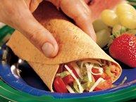 Mexican Bean Wraps