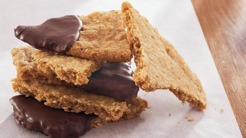 Crispy Oatmeal Cookie Bark