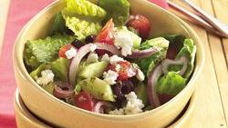 Gluten-Free Garden Fresh Greek Salad