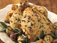 Oven-Roasted Chicken with New Potatoes