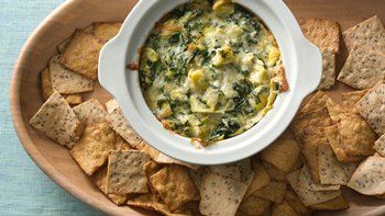 Slow-Cooker Hot Artichoke and Spinach Dip