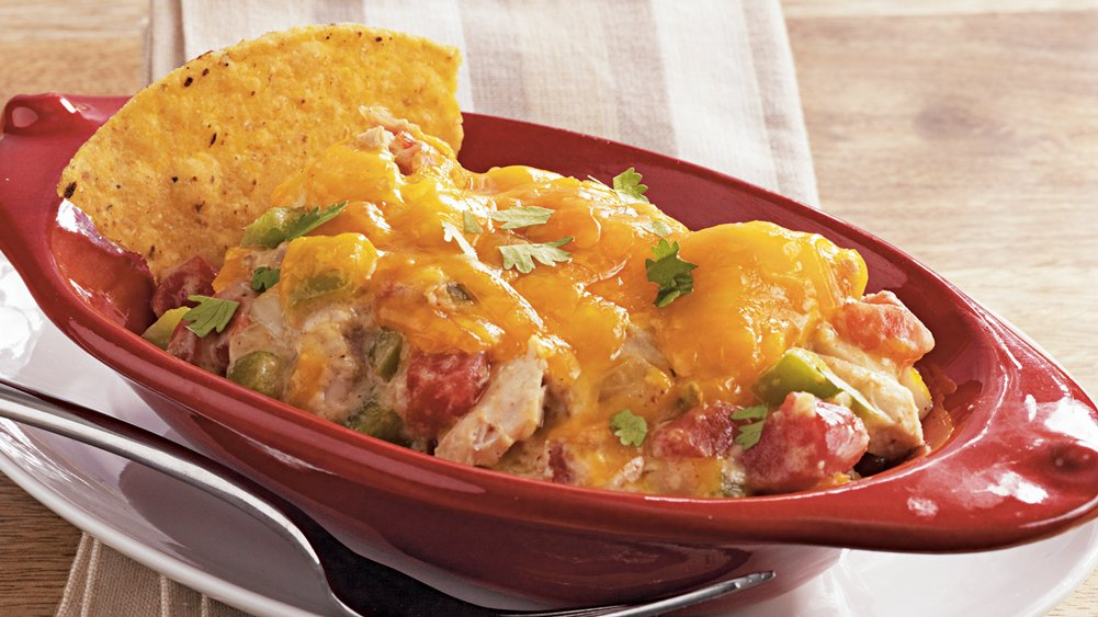 Slow-Cooker King Ranch Chicken