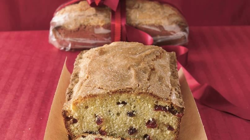 Orange-Cranberry Pound Cake