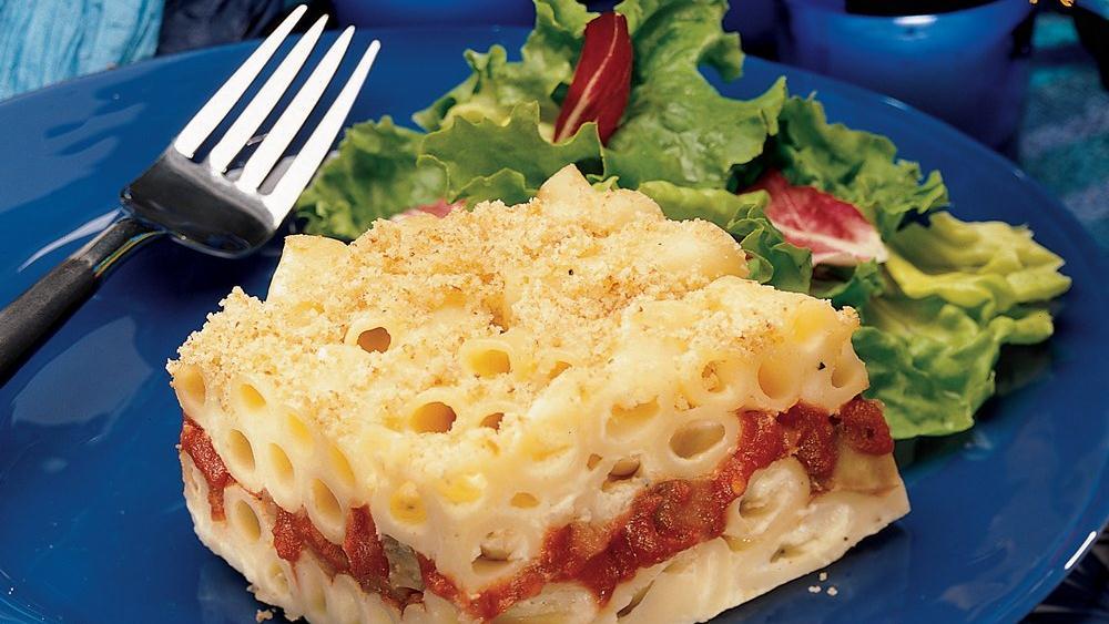 Mediterranean Pasta Torte