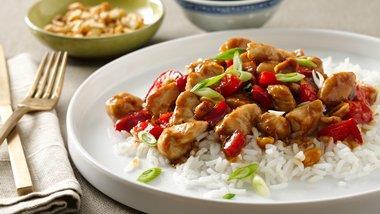 Spicy Peanut Chicken