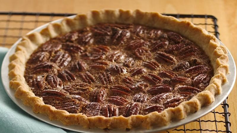 Decadent Pecan Pie recipe from Betty Crocker
