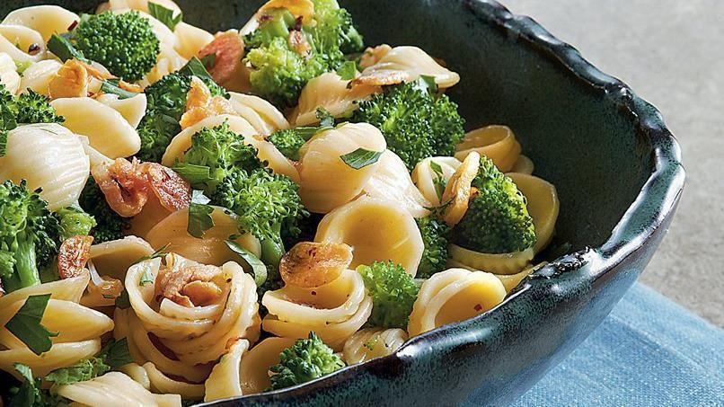 Orecchiette with Broccoli in Garlic Oil