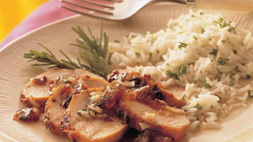 Grilled Plum-Glazed Turkey Tenderloins
