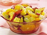 Fresh Fruit with Honey Poppy Seed Dressing