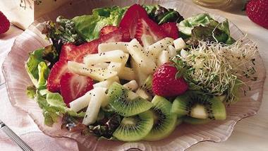 Strawberry-Jicama Toss