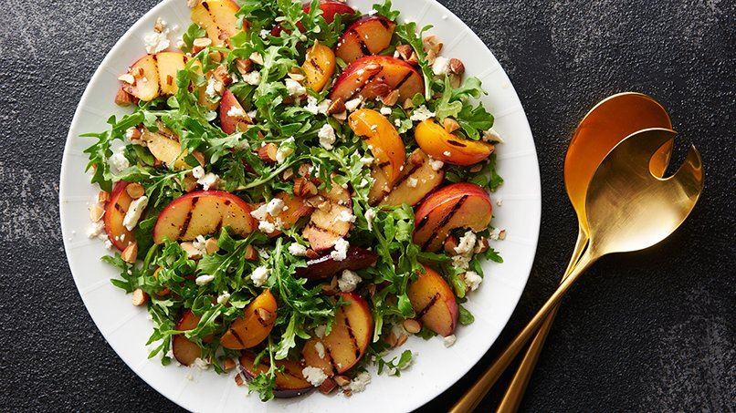 Grilled Stone Fruit Salad recipe - from Tablespoon!