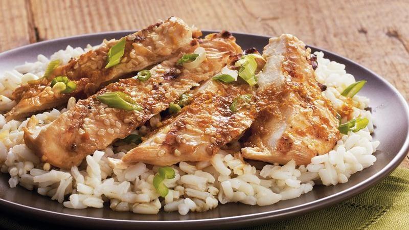 Sesame-Crusted Chicken