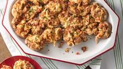 Spicy Three-Cheese Bacon Bites