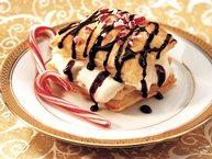 White Chocolate Peppermint Napoleons