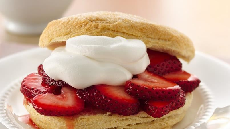Grands!® Easiest-Ever Strawberry Shortcakes