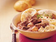 Slow-Cooker Greek Beef Stew