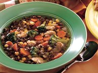 Slow-Cooker Confetti Wild Rice Soup