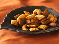 Spiced Nuts 'n Chex® Mix (1/2 Recipe)