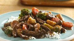 Slow-Cooker Teriyaki Beef and Vegetables