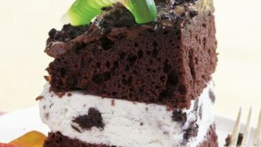 Dirt Ice Cream Cake