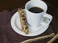 Dark-Chocolate Cranberry Biscotti
