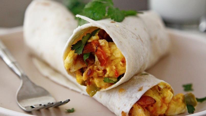 Scrambles Breakfast Burritos