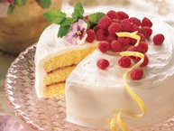 Lemon-Raspberry Cake