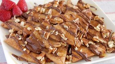 Pie Crust Dessert Nachos
