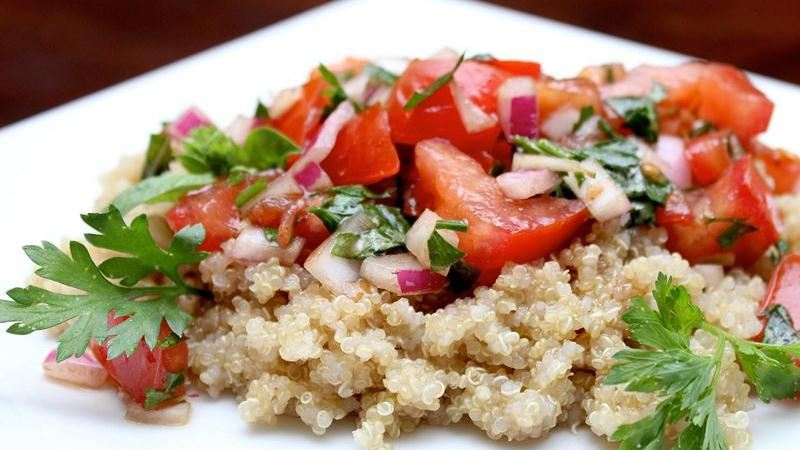 Summer Quinoa-Tomato Salad
