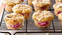 Impossibly Easy Raspberry-Cream Cheese Muffins