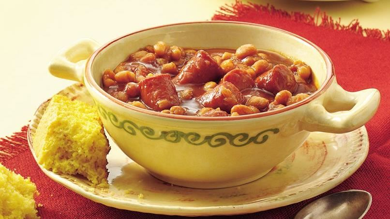 Slow-Cooker Beans and Wieners