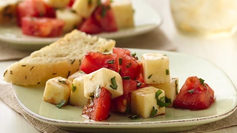 Mozzarella and Tomato Salad