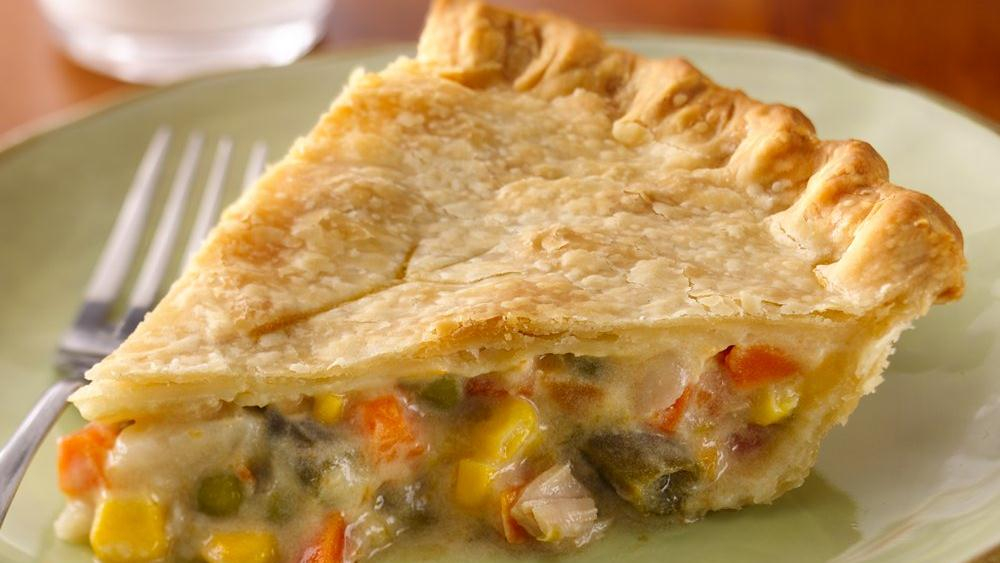 Super Easy Chicken Pot Pie recipe from Pillsbury.com