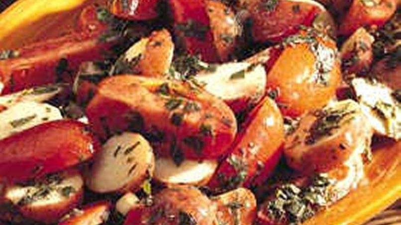 Herbed Tomato and Potato Salad