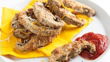 Baked Portabella Fries