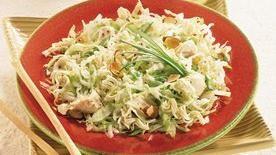 Light Asian Cabbage-Chicken Salad