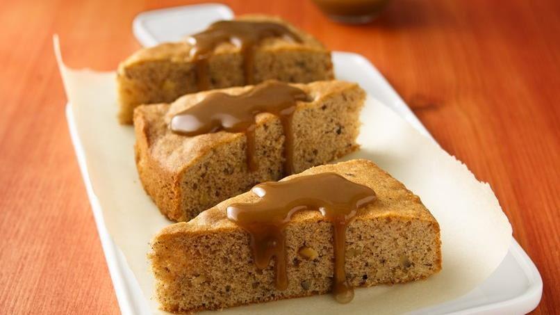 Caramel-Glazed Spice Cake