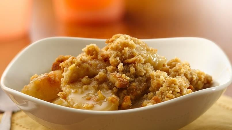 Vanilla-Ginger-Pear Crumble