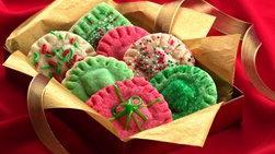 Galletas dulces de sorpresa de Navidad