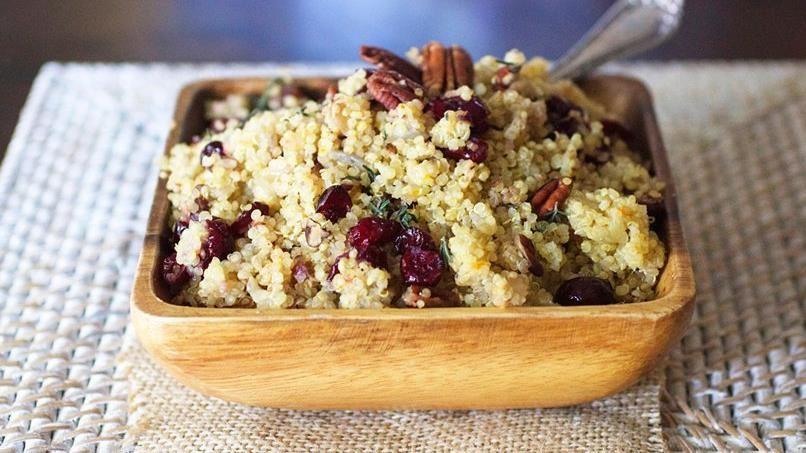 Cranberry Pecan Quinoa